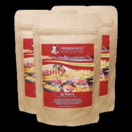 Sachets de mélange épices paella safran pour professionnels